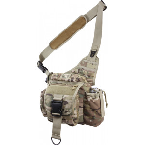 Multi Cam Military MOLLE Advanced Tactical Shoulder Bag