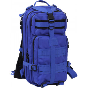 Blue Military MOLLE Medium Transport Assault Pack Backpack