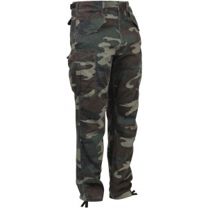 Woodland Camouflage Vintage M-65 Korean War Tactical Field Pants