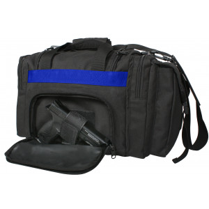Black Thin Blue Line Concealed Carry Bag