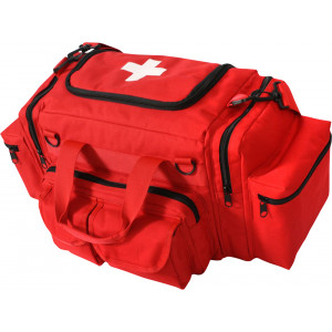 Red EMT Emergency Medical Kit Field Bag