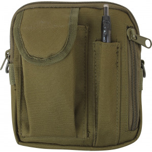 Olive Drab Military MOLLE Excursion Organizer Shoulder Bag