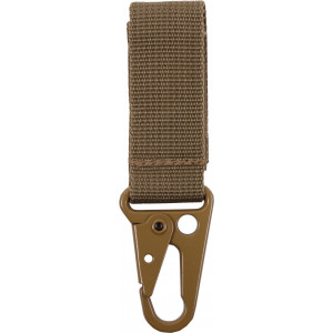 Coyote Brown Tactical Key Clip
