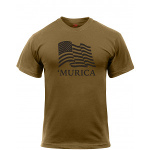 Murica US Flag T-Shirt