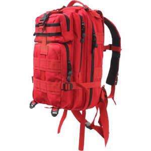 Red Military MOLLE Medium Transport Assault Pack Backpack