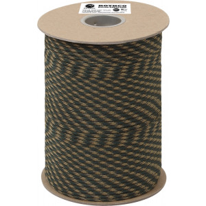Woodland Camouflage Nylon 550LB Type III Nylon Paracord Rope Spool 600 Feet