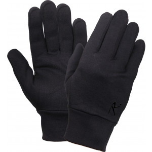 Black Military Lightweight Cold Weather Tactical Glove Liners