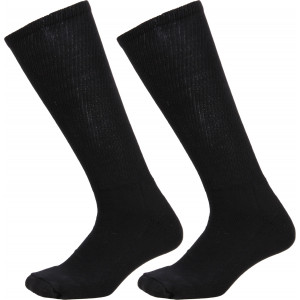 Black Cushioned Anti-Microbial & Odor Compression Military Combat Boot Socks USA