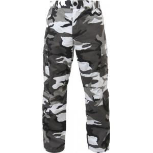 City Camouflage Vintage Military Paratrooper BDU Pants