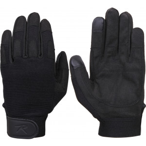 Black Touch Screen All Purpose Duty Gloves