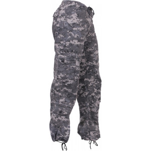 Subdued Urban Digital Camouflage Vintage Paratrooper BDU Fatigues (Womens)