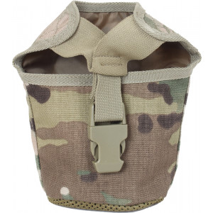 Multi Cam Military MOLLE 1 Qt. Canteen Cover