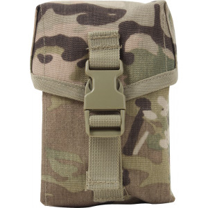 Multi Cam Military MOLLE II 100 Round Saw Pouch