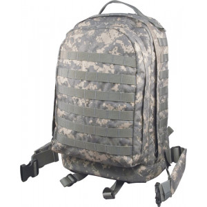 ACU Digital Camouflage Military MOLLE II 3 Day Assault Pack Backpack