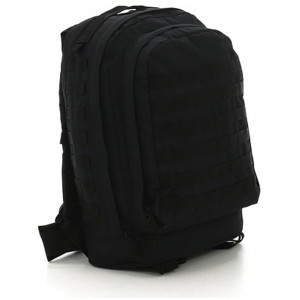 Black Military MOLLE II 3 Day Assault Pack Backpack