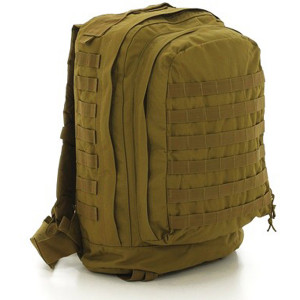 Coyote Brown Military MOLLE II 3 Day Assault Pack Backpack