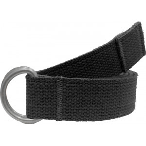 Black Military D-Ring Expedition Belt