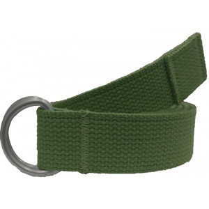 Olive Drab Military D-Ring Expedition Belt