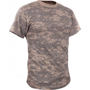 ACU Digital Camouflage Vintage Kids Military Tactical T-Shirt