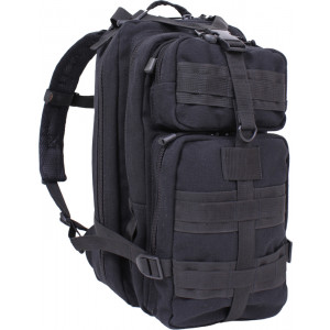 Black Canvas Military MOLLE Medium Transport Tactical Pack Backpack