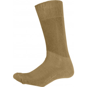 Coyote Brown Cushion Sole Military Tactical Boot Socks Pair USA Made