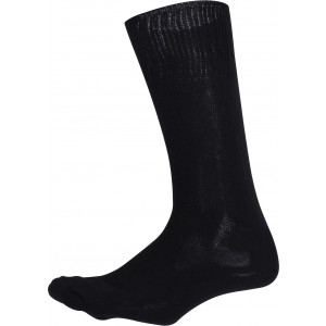 Black Cushion Sole Military Tactical Boot Socks Pair USA Made