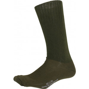 Olive Drab Cushion Sole Military Tactical Boot Socks Pair USA Made
