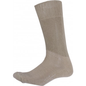 Khaki Cushion Sole Military Tactical Boot Socks Pair USA Made