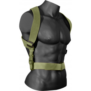 Olive Drab Military Tactical Combat Serious Suspenders