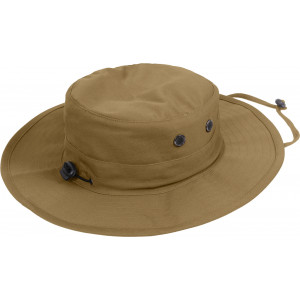 Coyote Brown Military Adjustable Hunting Wide Brim Jungle Boonie Hat