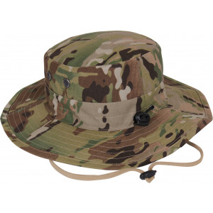 MultiCam Military Adjustable Hunting Wide Brim Jungle Boonie Hat