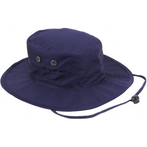 Navy Blue Military Adjustable Hunting Wide Brim Jungle Boonie Hat