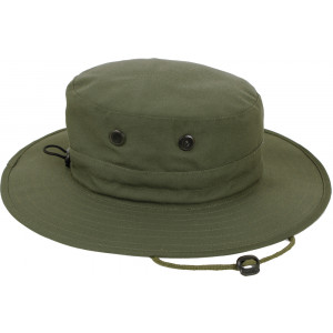 Olive Drab Military Adjustable Hunting Wide Brim Jungle Boonie Hat