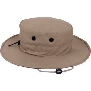 Khaki Military Adjustable Hunting Wide Brim Jungle Boonie Hat