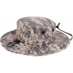 ACU Digital Camouflage Military Adjustable Wide Brim Boonie Hat