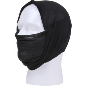 Black Tactical Multi Use Outdoors Headwrap