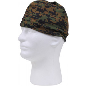 Woodland Digital Camouflage Tactical Multi Use Outdoors Headwrap