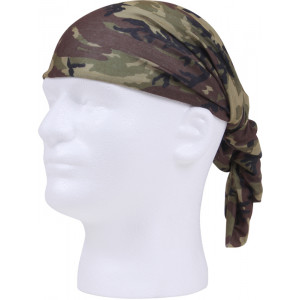 Woodland Camouflage Tactical Multi Use Outdoors Headwrap