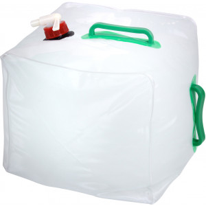 Clear 5 Gallon Collapsible Water Carrier