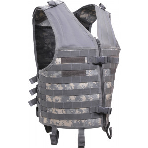 ACU Digital Camouflage MOLLE Modular Military Tactical Assault Vest