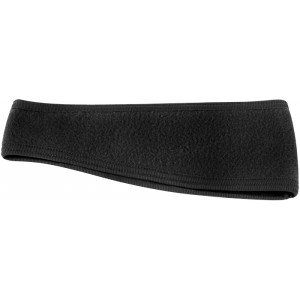 Black Double Layer Fleece Headband Ear Warmer