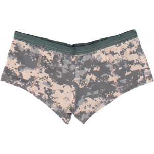 ACU Digital Camouflage Casual Women's Booty Shorts