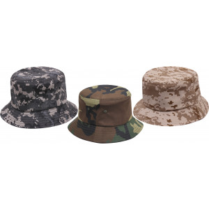 Camouflage Military Classic Bucket Hat