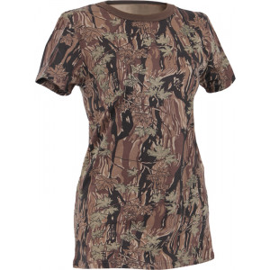 Women's Smokey Branch Camouflage Longer Slim T-Shirt