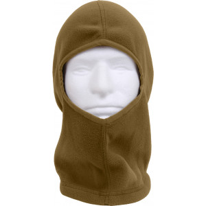 Coyote Brown Polar Fleece One Hole Winter Balaclava Mask