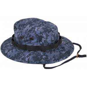 Midnite Digital Camouflage Military Wide Brim Boonie Hat