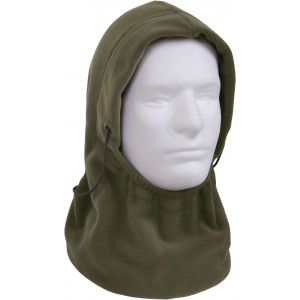 Olive Drab Polar Fleece Adjustable Winter Balaclava Mask