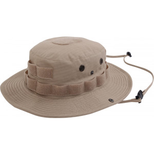 Tan Tactical Military Rip-Stop Boonie Hat