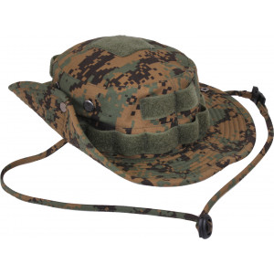 Woodland Digital Camouflage Tactical Military Rip-Stop Boonie Hat