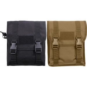 Military MOLLE M16 Rifle Magazine Holder Universal Utility Dump Pouch
